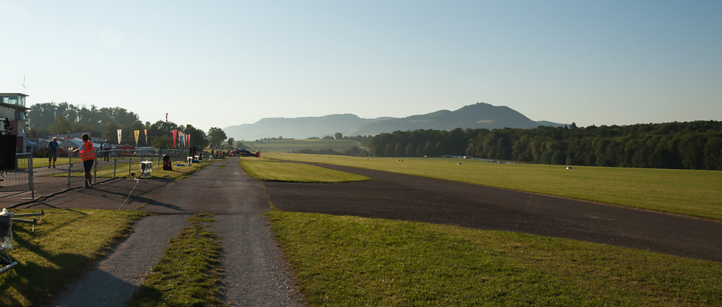 Flugplatz Hahnweide in the morning