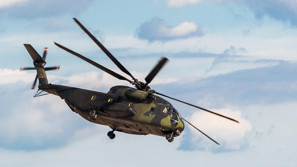 84+34 German Army CH-53 ILA 2012